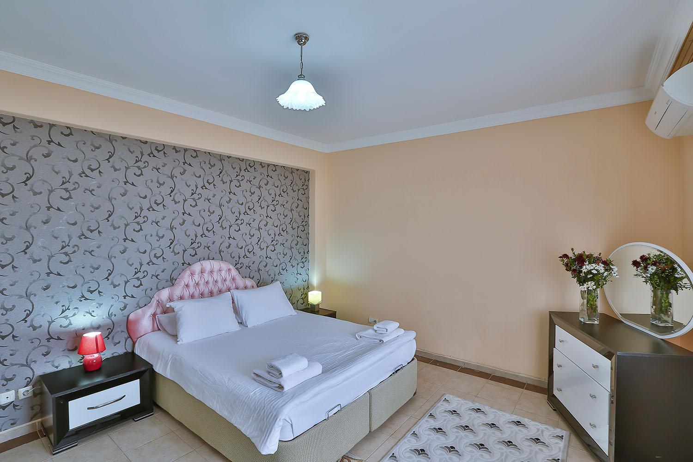 Jakuzili Suit Villa - Yatak Odası